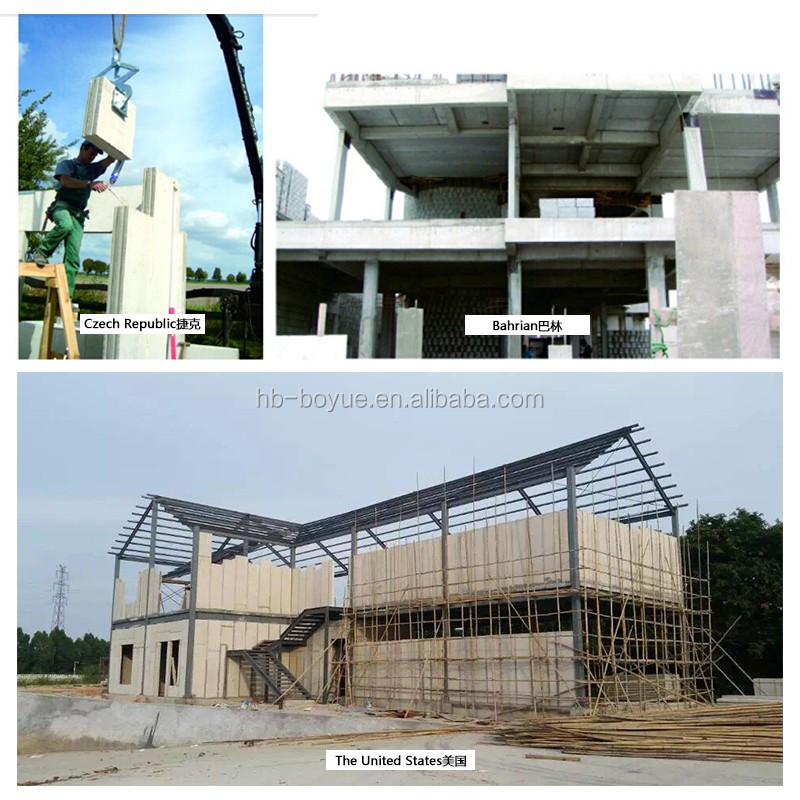 Movable House Eps Cement Exterior Wall Panels For