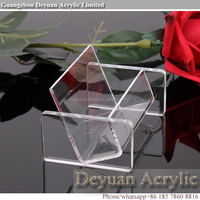 Custom acrylic lucite display rack plastic display stand