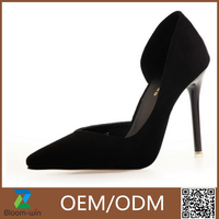 2016 leather fashion sex very high heel woman platform shoes