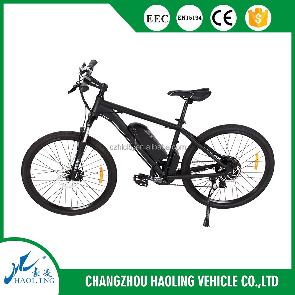 powerful mountain electric bicycle with simple looking