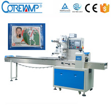 High Speed Automatic Feeder Gift Card Flow Packing Machine