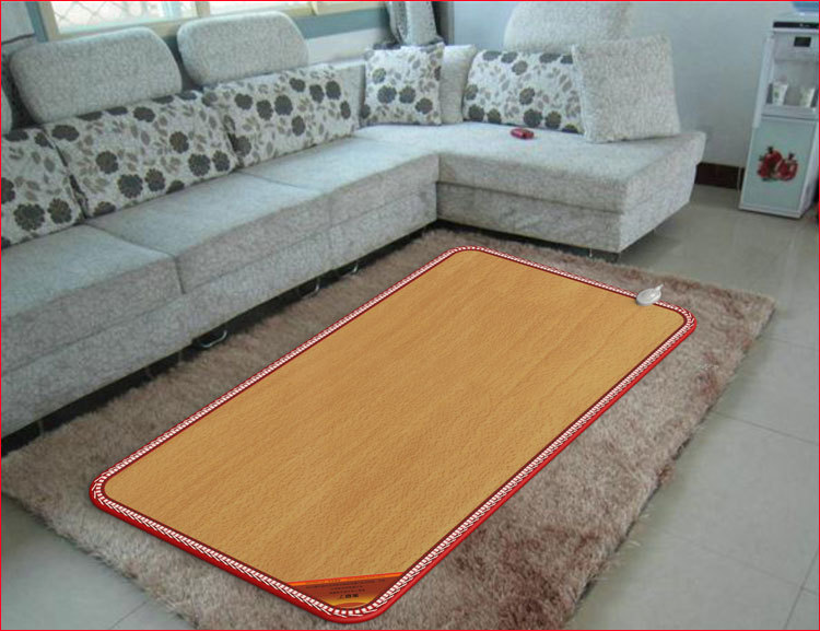 Fw518 Carbon Crystal Floor Mat Electric Floor Mat Carpeted