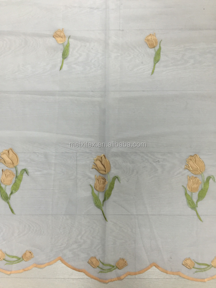 embroidered curtains designs embroidered voile curtain for window doors