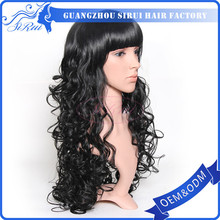 quality mohawk wig , breathable wigs , full lace 180 density wig