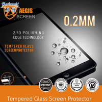 New arrival! 0.2mm Clear tempered glass screen protector for Ipad air/ Ipad mini