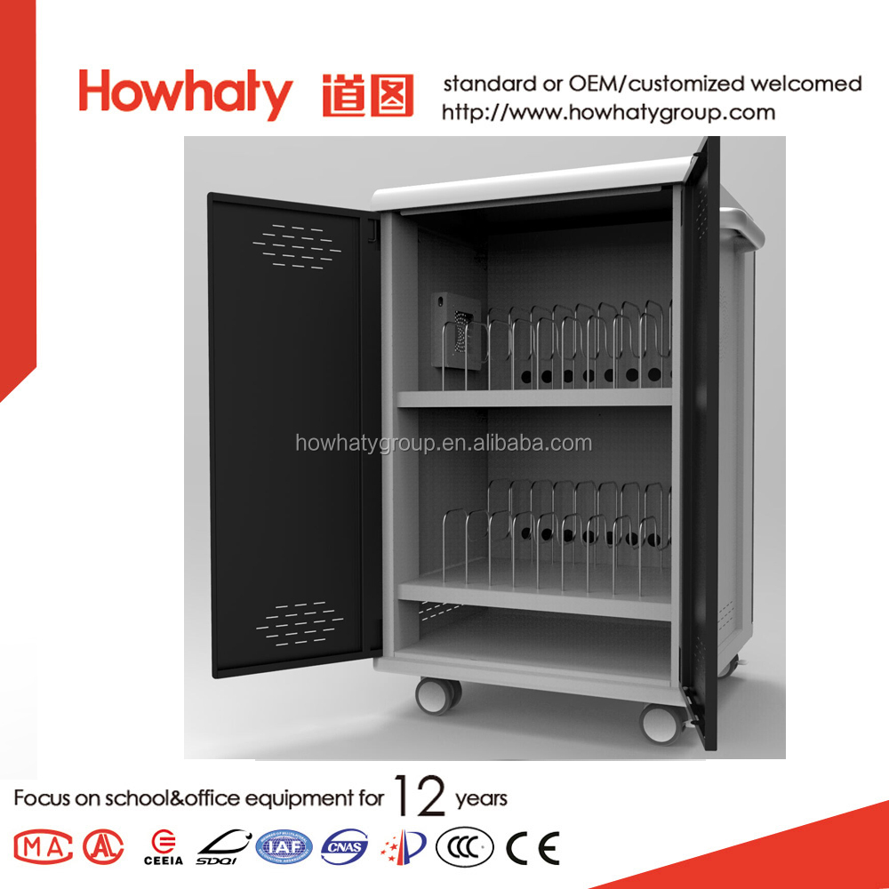 Hot selling laptop charging cabinet 16 device built-in cooling fan