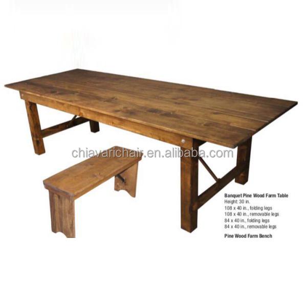 Brown Color Pine Wood Restaurant Farmhouse Folding Dining Room Table   Buy  Folding Farmhouse Table,Farmhouse Folding Table,Foldable Table Farmhouse  Product ...