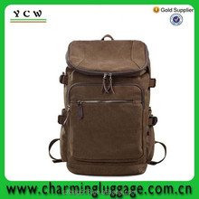 funky high class student school bag/wholesale world traveller canvas backpack