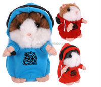 Fashion design lovely&Cute Cheap Soft hamster plush toy/chatimal the talking hamster plush animal toy plush toy hamster stuffed