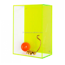 Stylish Wall Mounted Perspex Display Case Hanging Neon Acrylic Boxes