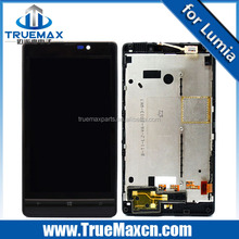 Factory wholesale cell phone LCD display touch screen for Nokia Lumia 820