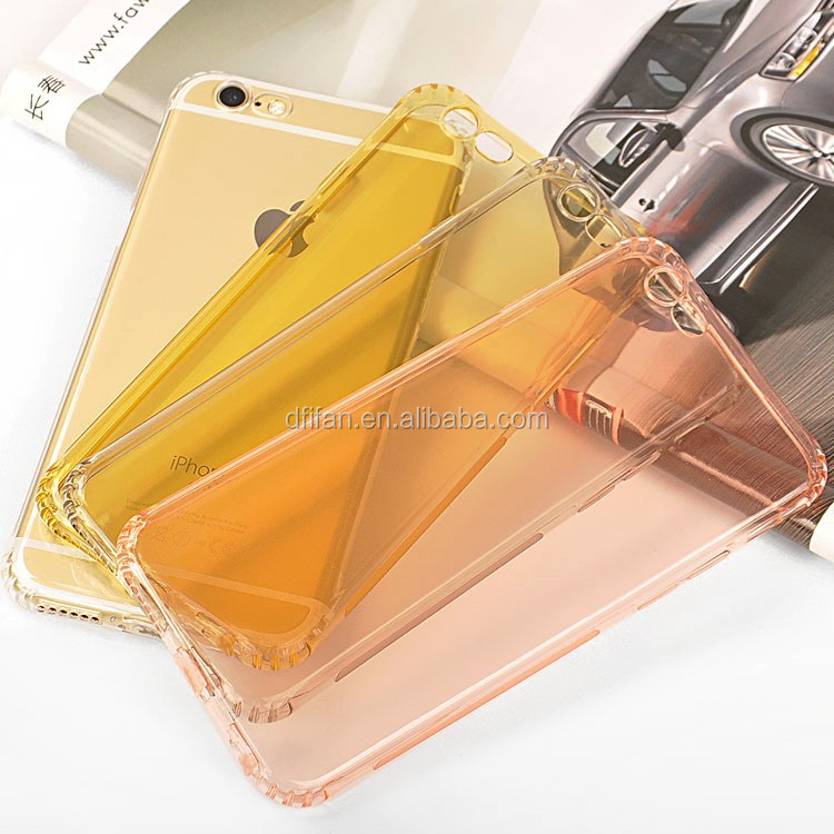 For iPhone 6 case, 3-Anti Soft TPU Case For iPhone6s, Transparent Back Cover Case For iPhone6/6s