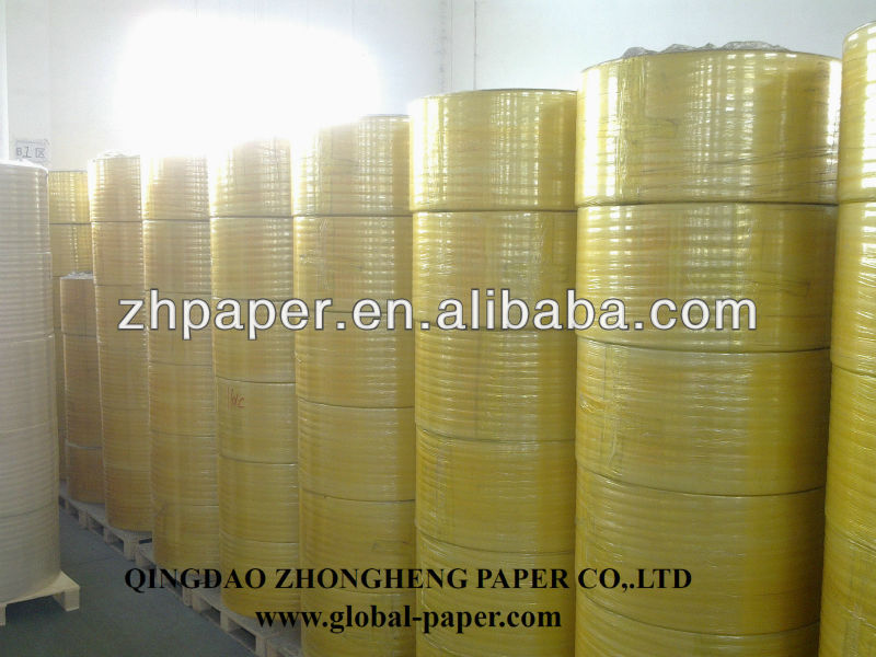 Carbonless Copy Paper Roll/ NCR Paper Reels