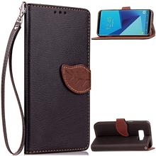Cell phone For iPhone 6s flip leather case with card holder back cover for note3/4/5/6