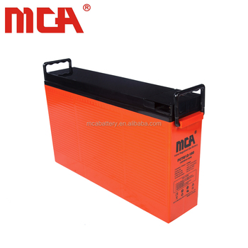 Popular top quality 12V 180Ah front terminal agm lead acid battery charger