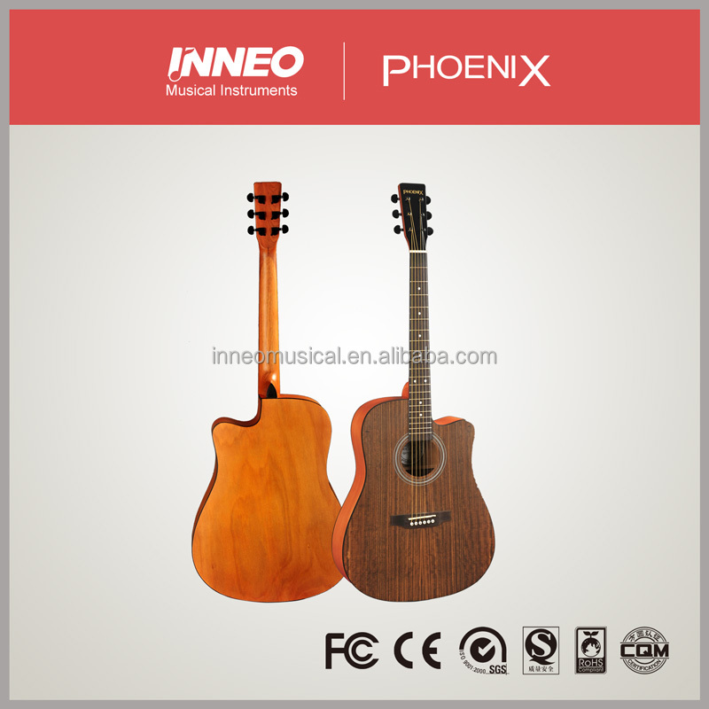 Good Quality Plywood Laminate Acoustic Guitar