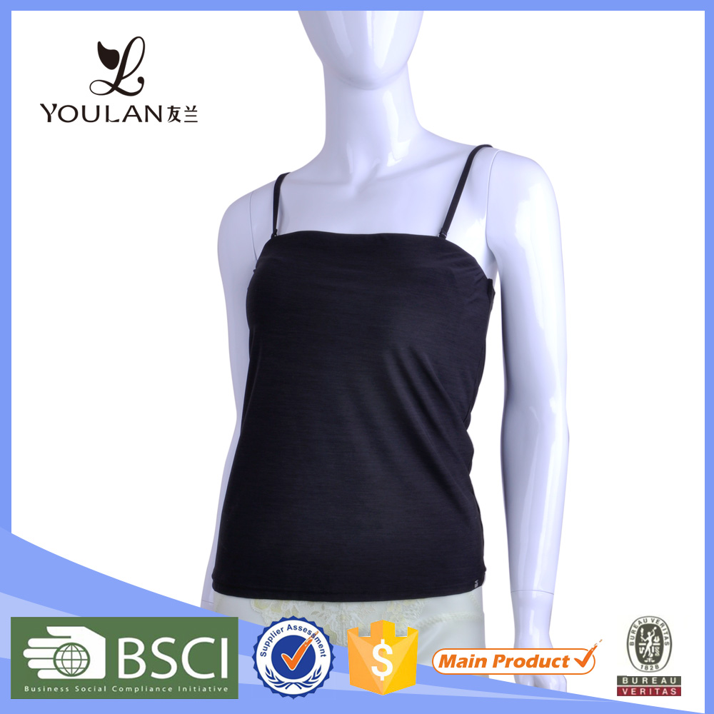 Hot Selling Delicate Plain Camisole Women