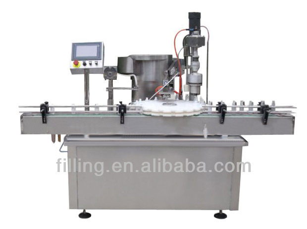 Spray automatic filling rotation rolling machine cover PW-50