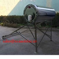 Mini size stainless steel 12 ETC tubes non-pressurized Solar Water Heater