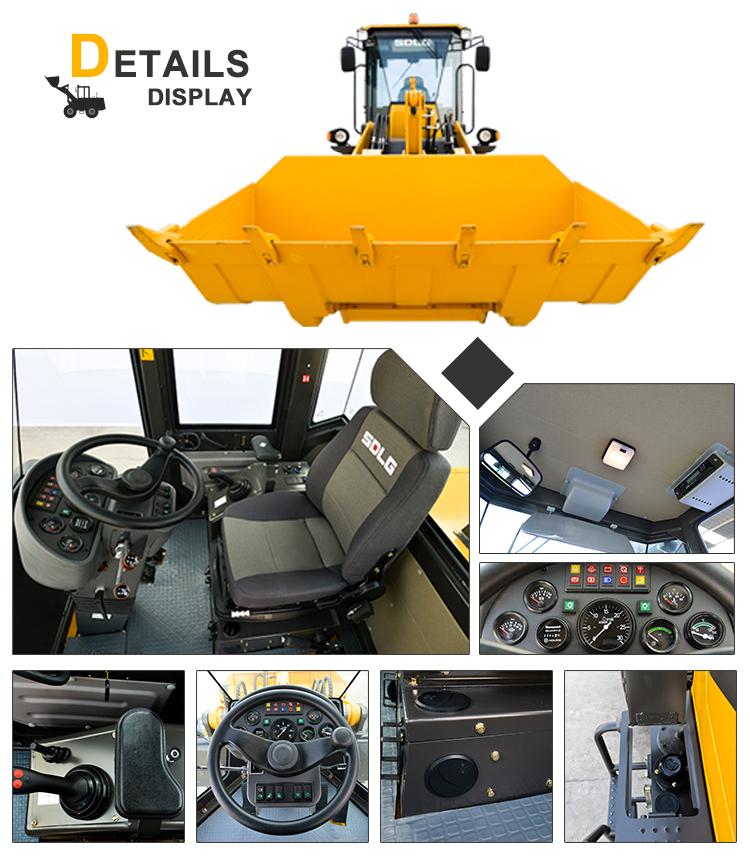 Máquina de Construção compact wheel loader LG918 fabricante