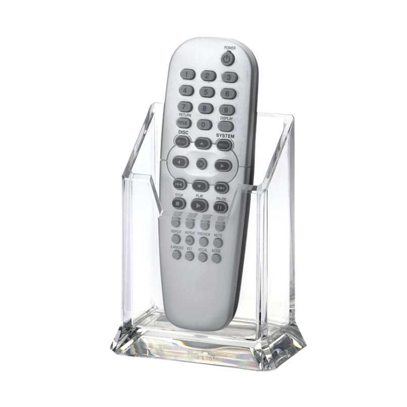 acrylic tv remote control holder