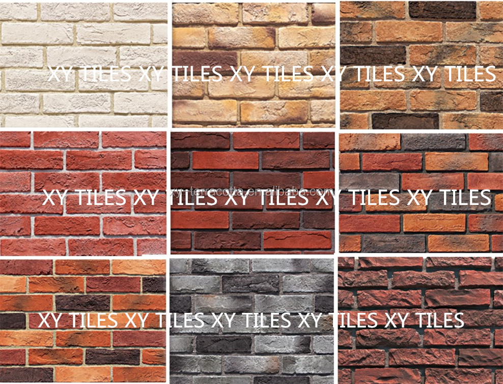 artificial decorate faux brick for exterior decor,decorative face brick,decorative concrete bricks