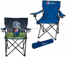 Promotional Folding Beach Chair, Camping chair with armrest