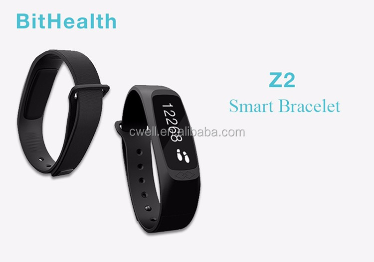 Bithealth Z2 0.91inch OLED Touch Screen BLE 4.0 Health Managment and Incoming Call Reminder Cheapest Bluetooth Bracelet