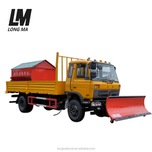 Factory direct sale heavy duty snow removal truck with snow shovel and snowmelt agent spreader