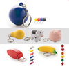 Eco-Friendly Top Quality Custom Cheap Stress Ball Keychain