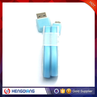 OEM factory price micro usb data flat cable for Android smartphone usb data cable for samsung mobile phone