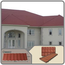 2016 building material Classical colorful stone coated metal roof tile in dippsi China