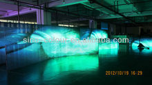 Ph10.42 full colour Indoor LED mesh curtain LED display screen rental usage