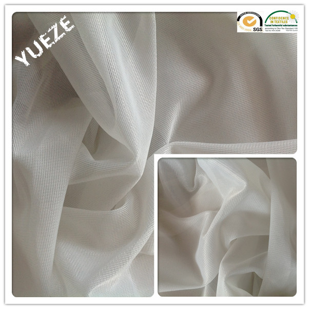100% polyester knitted lustrous fabric pocket lining fabric