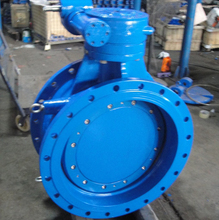 double eccentric Butterfly valve face to face ISO5752 Series 13