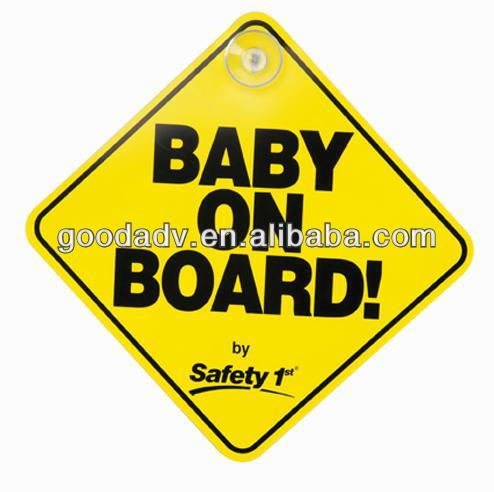 Factory promotion custom warning sign board cheap plastic sign board
