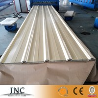 Cheap price colored corrugated galvanized steel roofing sheet material , zinc aluminum roofing sheet , metal roofing