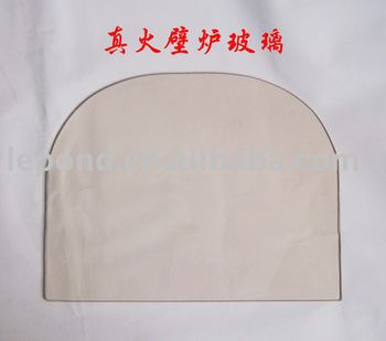 ceramic glass for fireplace heat-resistant borosilicate glass for stove