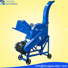 Automatic best selling factory stock supply poultry feed chopper/corn stalk crusher farm used machinery