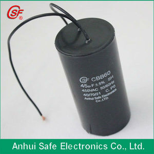 Washer, air compressor 450VAC 250VAC CBB60 sh AC motor run capacitor