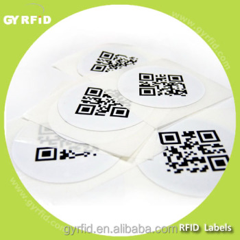 LAP NTAG13 rfid Smart Label for asset tracking system/glasse/handbags( GYRFID )
