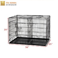 Wholesale foldable wire pet cage/dog cage