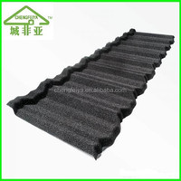 Hot sale stone coated steel roof tile/stone coated roofing tile