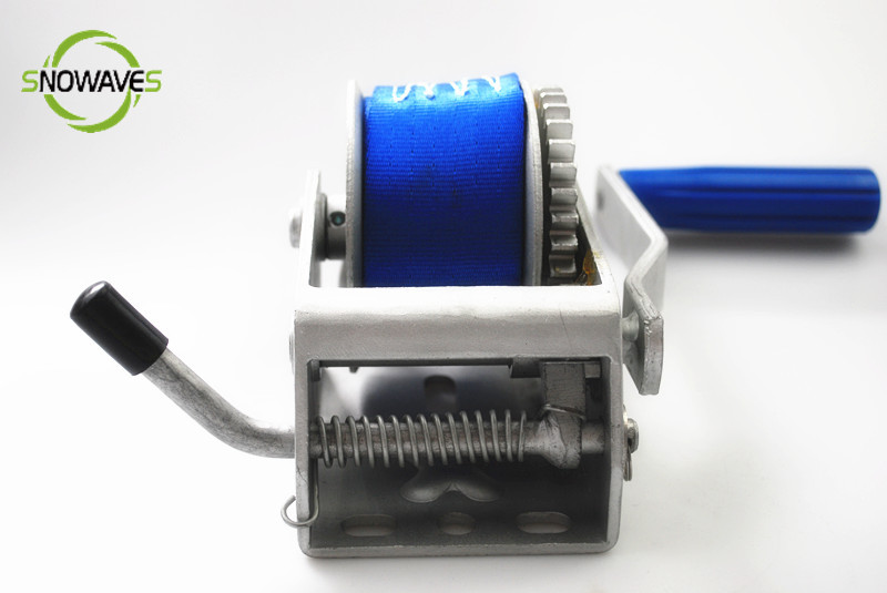Portable capstan wakeboard winch