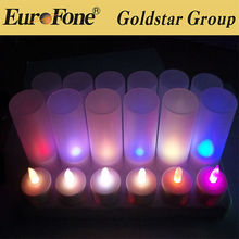 High quality led candle light rechargeable CE RoHs