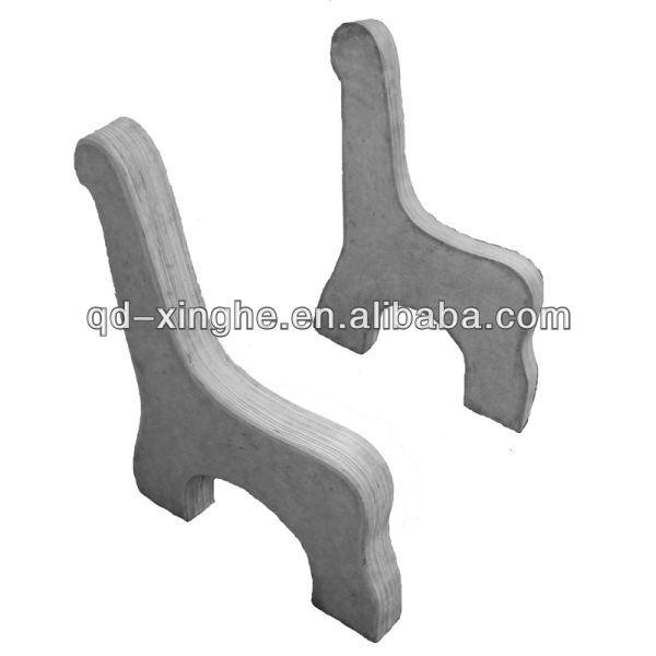 Banco de hierro fundido piernas de fundici n fundici n de for Aluminio productos de fundicion muebles de jardin