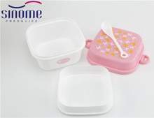 2017 Small Household Items 2 Layer Lunch Boxes