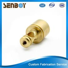 New design floor price precise bronze copper brass cnc precise machining parts made in China