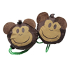 hot sale promotional reusable Monkey shape foldable polyester bag