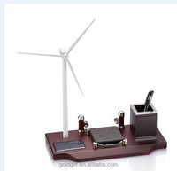 wind stand desktop gifts with pen holder